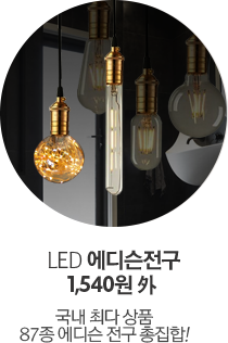 LED 에디슨전구 1,540원